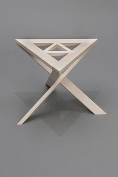 """This work was designed and constructed in a program titled """"Furniture Design in Scandinavia"""" at the Danish Institute for Study Abroad in Denmark, July Metal Furniture, Home Decor Furniture, Unique Furniture, Pallet Furniture, Furniture Design, Furniture Removal, Design Tisch, Wood Table, Chair Design"""