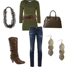 Brown and Olive :) by nicole