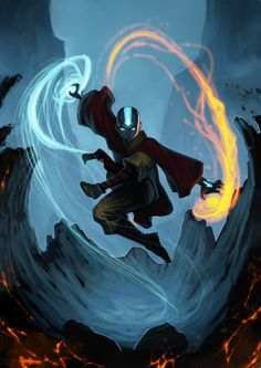 Avatar Aang from Avatar: The Last Airbender. I love this series.