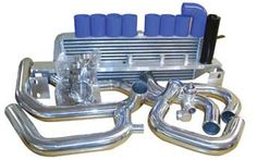 Turbo XS Front Mount Intercooler for Subaru WRX & Sti 02-07