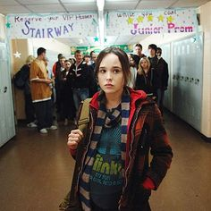 Ellen Page, Juno | JUNO McGUFF Ellen Page Juno (2007) Despite her hard, quick-witted shell, this expectant teenage mom has got a soft-and-chewy center. Not to mention she's got…