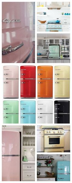 Do you have a favorite Big Chill color? We sure do make it hard to choose from the 8 standard colors we offer to over 200 custom options to choose from as well. Turning heads with matching retro kitchen appliances in the color right for you.