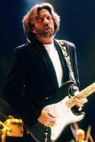 Get This Special Offer #10: Eric Clapton Moody Concert Playing Guitar Dark Jacket 24x36 Poster
