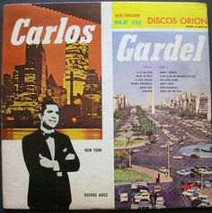 CARLOS GARDEL Con acompañamiento de orquesta y Guitarra