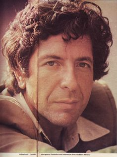 Sounds magazine 1976 http://cohencentric.com/2015/07/12/the-1976-sounds-incarnation-of-that-striking-leonard-cohen-1983-starsound-booklet-photo/