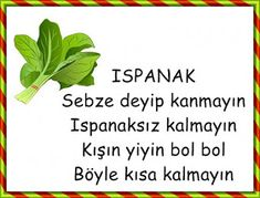 Gönder Turkish Lessons, Malta, Activities For Kids, Preschool, Herbs, Drama Drama, Board, Activities, School Supplies