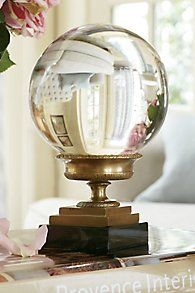 Crystal Sphere & Urn ... Soft Surroundings