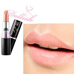 Lioele Dollish Lipstick 02 Nudy Coral - L-p-95 - Lioele Lip Makeup - Lioele Point Makeup - Korean