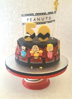Peanuts Cake (Inspired by another Peanuts Cake)