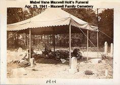 Mabel Holt's Funeral- Apr. 23, 1941 -1