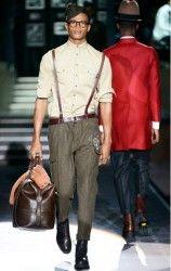 abbigliamento uomo anni 50 dsquared men autunno inverno 2013 2014