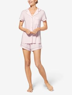 Women's Pajama Short Sleeve Top – Tommy John