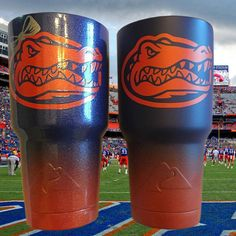 30 oz His & Hers Gator Cups by PokeyPelican on Etsy