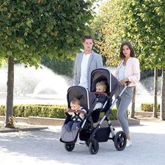 No need for a double take - it really is a Silver Cross tandem! Wave is our latest exciting launch - a beautiful and luxurious pram system that's perfect for one baby siblings or twins. #SilverCrossWave #new #lovesilvercross #doublepram #luxurious #beautiful #baby #pregnancy # @silvercrossuk