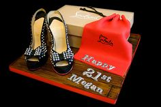 The Making Of the Christian Louboutin Shoes Cake | The Makin… | Flickr