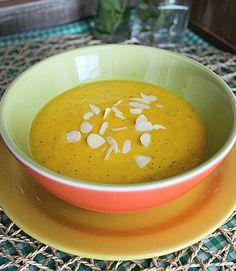 Sopa de Cenoura com Maracujá