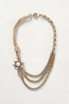 Comet Blaze Necklace #anthropologie