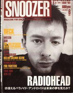 Radiohead - Magazine Covers - 1997 - SNOOZER