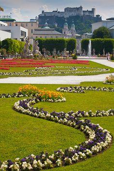 Mirabell Palace Gardens - Salzburg, Austria  Salzburg, Austria  http://www.travelandtransitions.com/austria-travel/