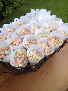 30 Pre Made Cones of Dried Petal or Lavender by Sidandolive