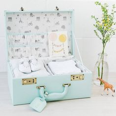 Are you interested in our personalised baby memory box ? With our christening new born shower keepsake box gift you need look no further.