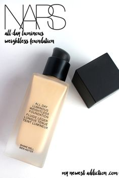 NARS All Day Luminous Weightless Foundation - My Newest Addiction