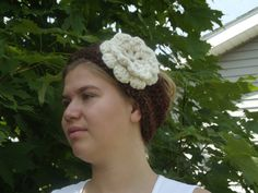 """Ready to ship Multi Brown Hand Crocheted Headband by WillowPrairie, $18.00        This brown multi headband is a must have accessory for winter! It has two buttons for two sizes, and it is so cute and warm!  Size: adult or teen (21"""" with stretch) Color: Multi Brown Fiber: Wool Blend  Machine wash and dry!  I am able to make a variety of sizes and colors, so please feel free to contact me with your request."""