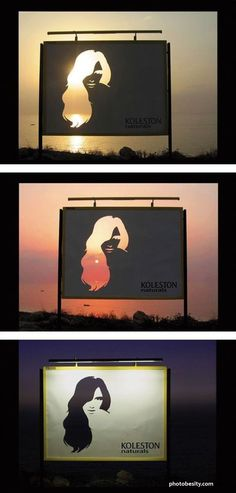 Diecut Billboard. The image is kind of boring but what an idea!