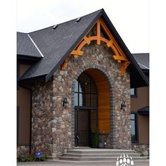 Amazing home in #Calgary AB with Kodiak Mountain Stone Cut Fieldstone (Color: Quarry). TAG someone who would love this #home!!! www.KodiakMountain.com #kodiakmountainstone #customhomes #homebuilder #luxury #luxuryhomes #yycdesign #fieldstone #architectdes