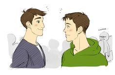 Tadashi and Marco AU (1)