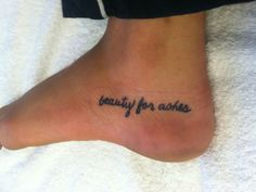 bible verses tattoos on foot - photo #21