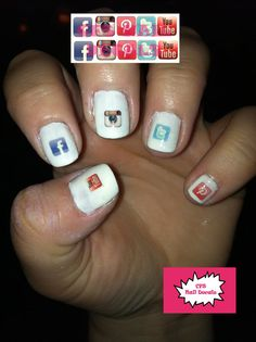 Apps Nail Decals | 22 Completely Terrifying Fake Nails