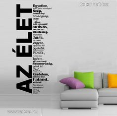 inspirációs szöveg a falon - Google keresés Qoutes, Ted, Sweet Home, Hungary, Home Decor, Google, Interior Design, Quotes, Home Interiors