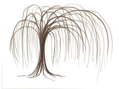 Willow SimpleTree guestbook - autograph -reunion - retirement - scrapbook-party-graduation - going away. $5.00, via Etsy.