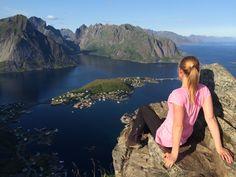 Wandern auf den Lofoten - der Reinebriggen