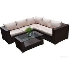 @Overstock - Kessler Brown 4-piece Outdoor Wicker Sectional Sofa Set - Dress up your outdoor space with the lush seating provided by the Kessler four-piece sectional sofa set. The classic L-shape sofa lets you entertain your guests in comfort and style with a matching beautiful coffee table.  http://www.overstock.com/Home-Garden/Kessler-Brown-4-piece-Outdoor-Wicker-Sectional-Sofa-Set/9206998/product.html?CID=214117 $989.99
