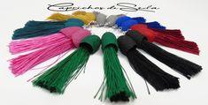Date un capricho. Búscame en Amazon/Handmade. Tassel Necklace, Tassels, Jewelry, Fashion, Dyed Silk, Bangs, Earrings, Moda, Jewlery