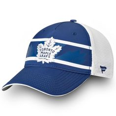 f5ff586c6 Toronto Maple Leafs Fanatics Branded Authentic Pro Second Season Trucker  Adjustable Hat – Blue White