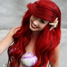 is it bad to want Ariels hair? (Ariel at Comic - Con 2011)