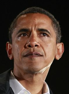 President Obama crying. The night before the 2008 election and just upon hearing his grandmother had died.
