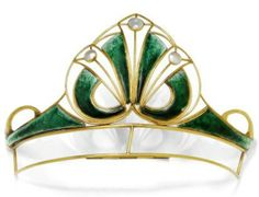 Tiara from Scotland, circa 1900- Koller
