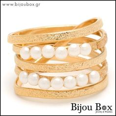 Bijou Box, Bangles, Bracelets, Pearl Ring, Rose Gold Plates, Great Gifts, Bronze, Pearls, Rings