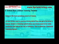 61 Best AZ License Training in Toronto images in 2019 | Driving