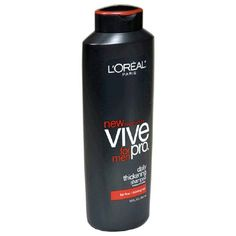 L'Oreal Vive Pro for Men Shampoo, Daily Thickening, for Fine/Thinning Hair, 13-Ounce Bottles (Pack of 6) - http://www.specialdaysgift.com/loreal-vive-pro-for-men-shampoo-daily-thickening-for-finethinning-hair-13-ounce-bottles-pack-of-6/
