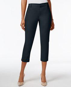 Tommy Hilfiger Cropped Pants - Capris - Women - Macy's