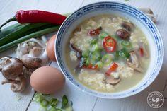 "Chinese ""egg drop"" soep"
