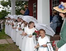 Come to the July 4th celebrations at the Genesee Country Village & Museum  10 AM to 4 PM