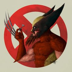 Artist Imagines Superheroes Sporting Awesome Facial Hair For Movember