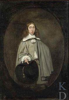 Gerard ter Borch (II) , Portrait van of Jan Craeyvanger (1641-?), 1658 - The Leiden Collection, New York