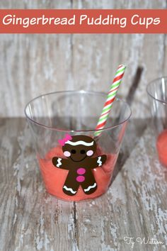Gingerbread Pudding Cups
